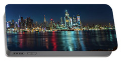 Panoramic Skyline-manhattan Portable Battery Charger