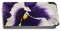 Pansy Face Portable Battery Charger