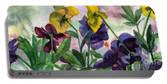 Pansy Field Portable Battery Charger
