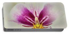 Pansy Orchid Portable Battery Charger