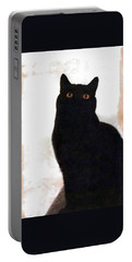 Panther The British Shorthair Cat Portable Battery Charger