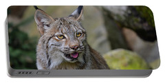 Panting Lynx Portable Battery Charger