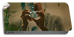 Papa Razzi Portable Battery Charger by Stuart Turnbull