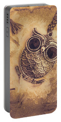 Paper Pendant Owl Portable Battery Charger