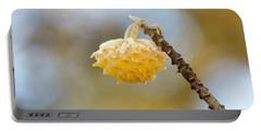 Paperbush Flower Portable Battery Charger