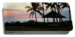 Paradise At Dusk Portable Battery Charger