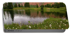Portable Battery Charger featuring the photograph Paradise Basin by Steve Stuller
