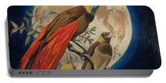 Paradise Birds Portable Battery Charger