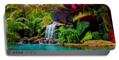 Portable Battery Charger featuring the photograph Paradise by Karen Wiles