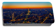 Paris After Sunset Portable Battery Charger