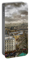 Paris As Seen From The Sacre-coeur Portable Battery Charger