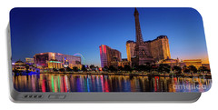 Paris Casino At Dawn 2 To 1 Ratio Portable Battery Charger