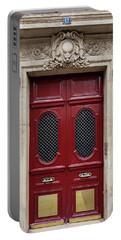 Paris Doors No. 17 - Paris, France Portable Battery Charger