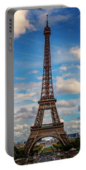 Paris France Eiffel Tower 7k_dsc1969_09102017 Portable Battery Charger