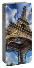 Paris France Eiffel Tower Photo Painting 7k_dsc1999_09102017 Portable Battery Charger