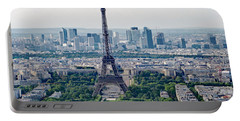 Paris France Portable Battery Charger