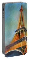 Paris Portable Battery Charger by Jutta Maria Pusl
