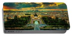 Paris Landscape Portable Battery Charger