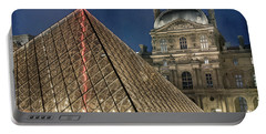 Paris Louvre Portable Battery Charger by Juli Scalzi