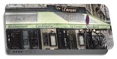 Paris - Restaurant Portable Battery Charger