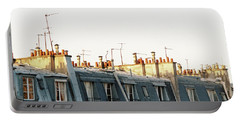 Paris Rooftops Portable Battery Charger