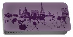 Paris Skyline.1 Portable Battery Charger