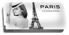 Paris The Fashion Capital Portable Battery Charger