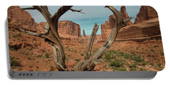 Portable Battery Charger featuring the photograph Park Avenue by Gary Lengyel