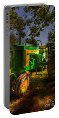 Parked John Deere Portable Battery Charger