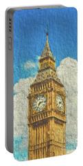 Parliament Big Ben, London Portable Battery Charger