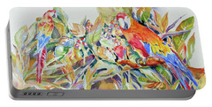 Parrots In Paradise Portable Battery Charger