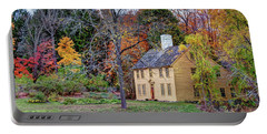 Parson Barnard House In Autumn Portable Battery Charger