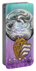 Partakers Of His Heart Portable Battery Charger