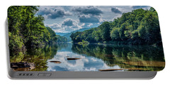Partially Cloudy Gauley River Portable Battery Charger