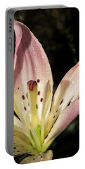 Portable Battery Charger featuring the photograph Partitioned Lily by Jean Noren