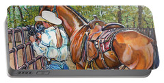 Partners Portable Battery Charger by Stephanie Come-Ryker