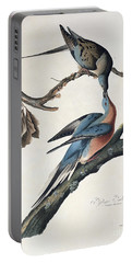 Passenger Pigeon Portable Battery Charger by John James Audubon