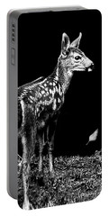 Portable Battery Charger featuring the photograph Passing Fawn by Adria Trail