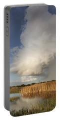 Passing Late Afternoon Rain Shower Portable Battery Charger