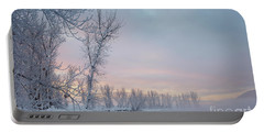 Pastel Dawn Portable Battery Charger