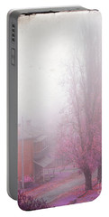 Pastel Fog Portable Battery Charger