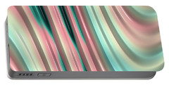Portable Battery Charger featuring the photograph Pastel Fractal 2 by Bonnie Bruno