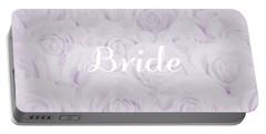 Pastel Purple Bride Portable Battery Charger