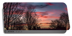 Pastel Sunrise Portable Battery Charger