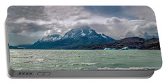 Patagonia Lake Portable Battery Charger by Andrew Matwijec