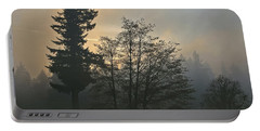Patchy Morning Fog Portable Battery Charger