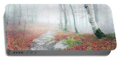 Path In The Forest Portable Battery Charger