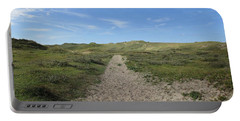 Path In The Noordhollandse Duinreservaat Portable Battery Charger