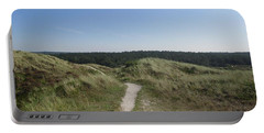 Path In The Dunes Of Schoorl Portable Battery Charger