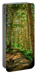 Path In The Trees Portable Battery Charger